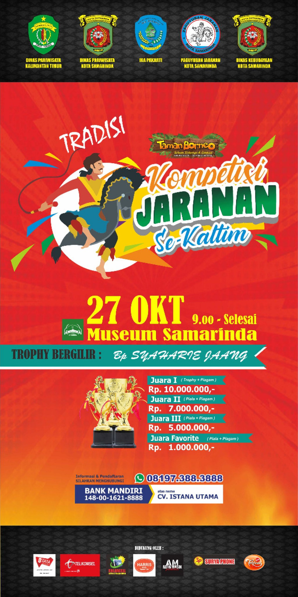 Festival Jaranan Kalimantan Timur