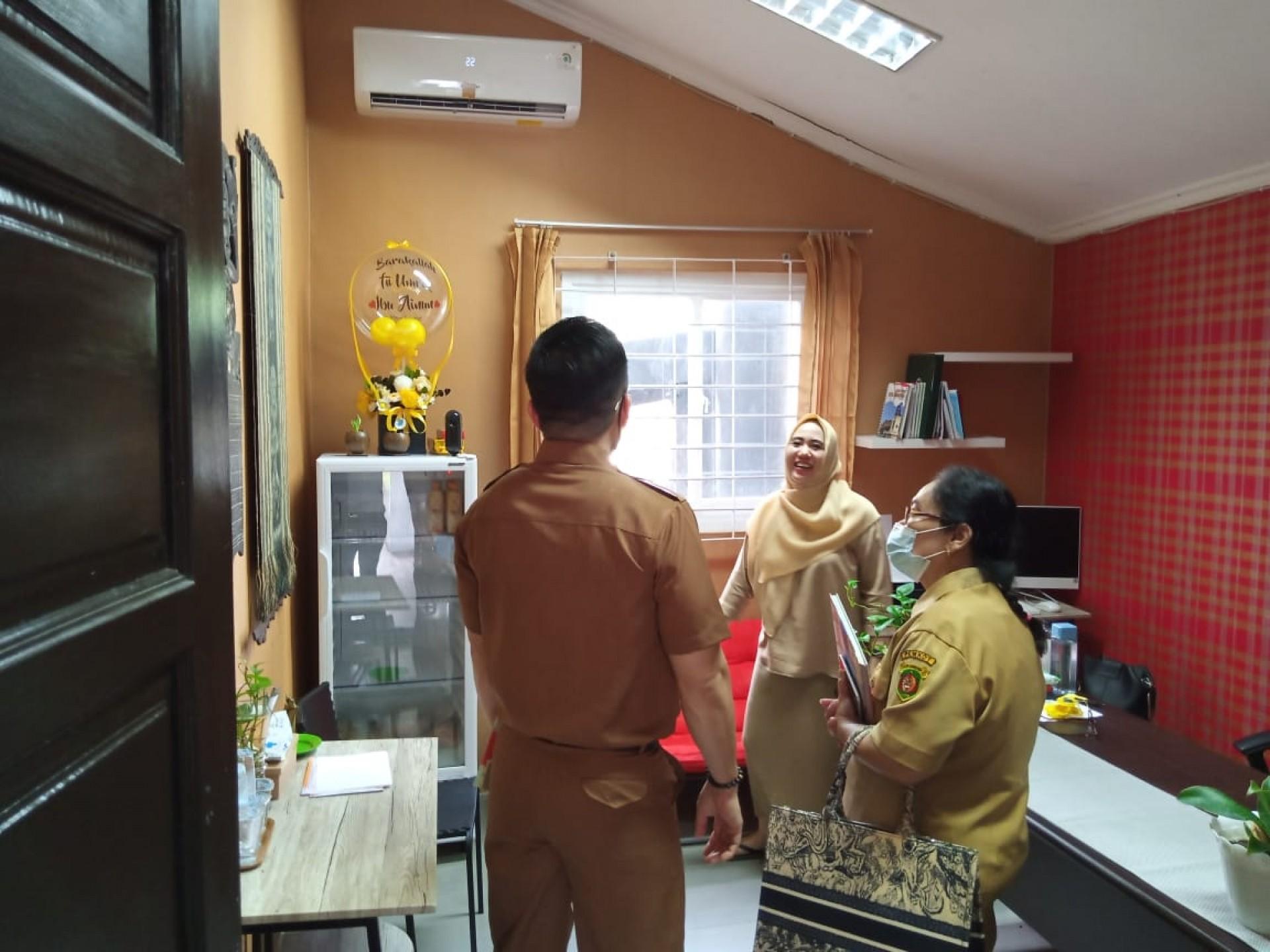 Koordinasi APEKSI oleh Dinas Perindustrian Kota Samarinda