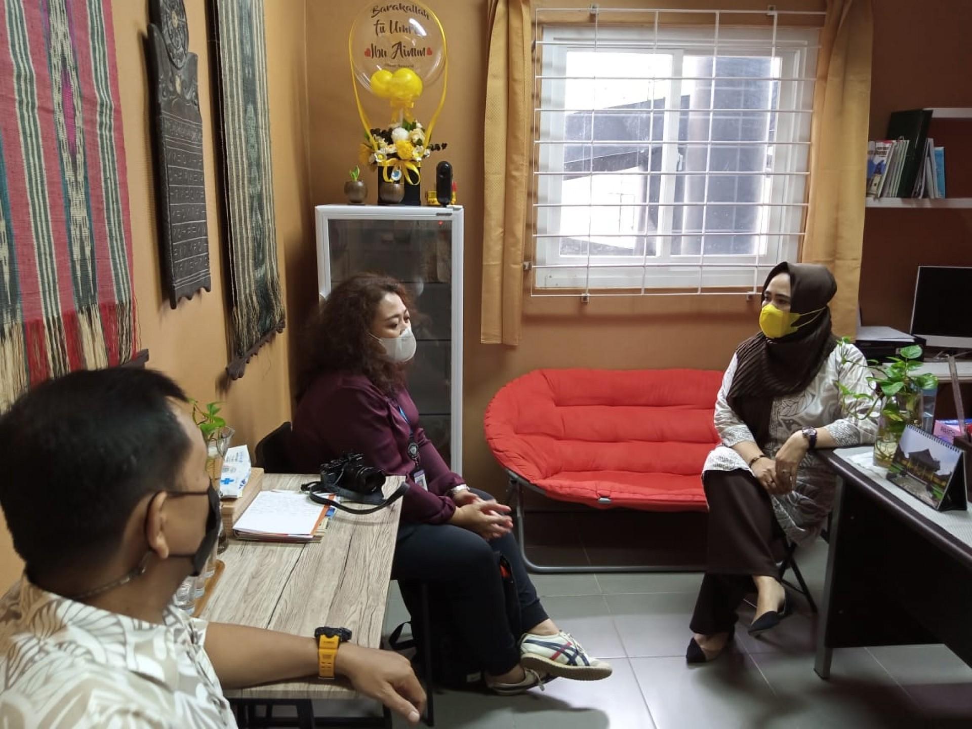Kunjungan Badan Bahasa Pusat Kemdikbud Jakarta